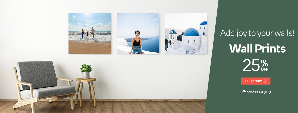 Wall prints 25% OFF