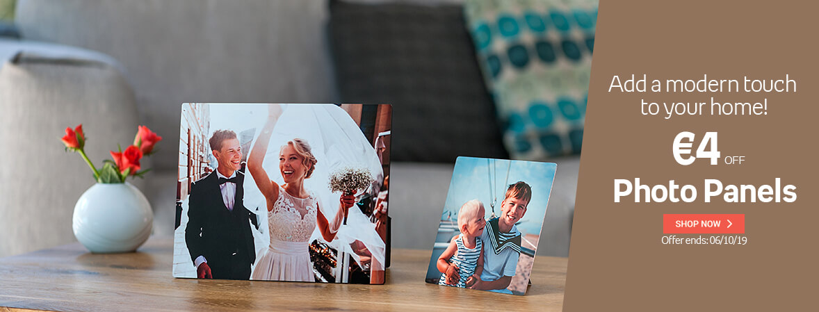 Photo Panels € 4,00 OFF