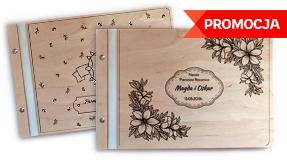 Albumy drewniane