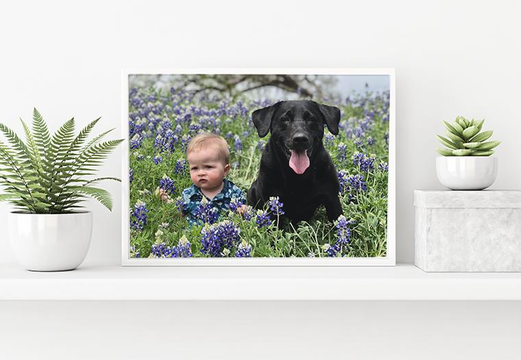 Fotoplagáty v rámčekoch