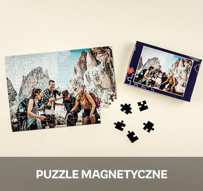 Puzzle magnetyczne z Twoim zdjęciem