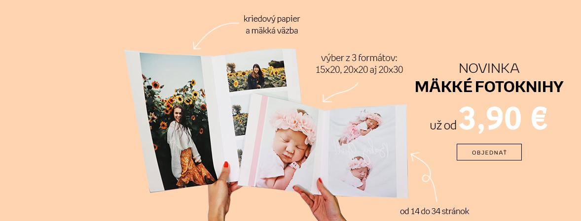NOVINKA! Mäkké fotoknihy