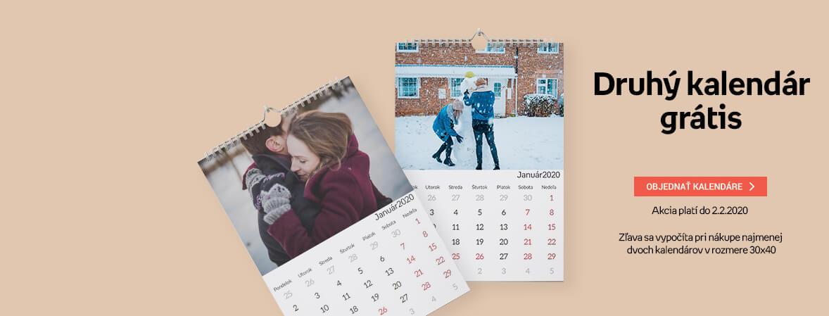 Druhý kalendár grátis