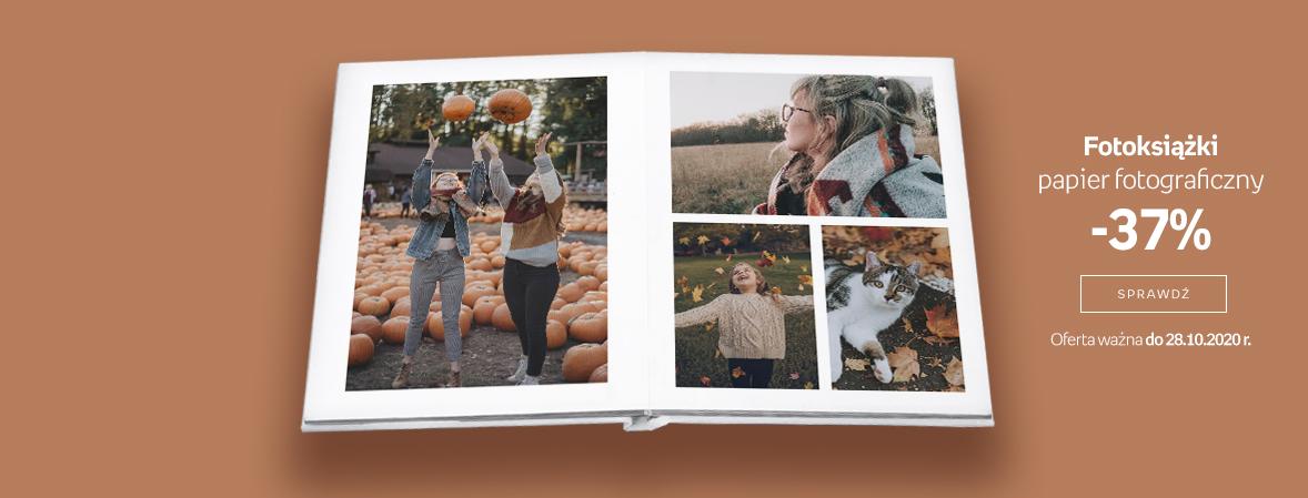 Fotoksiążki papier fotograficzny -37%
