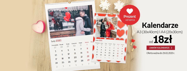 Kalendarze z Twoimi zdjęciami już od 18zł