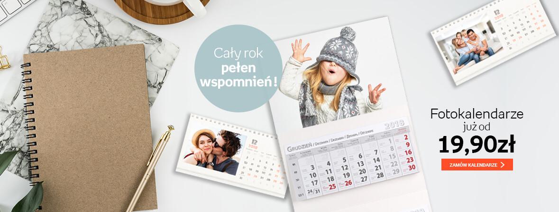 Kalendarze biurkowy i trójdzielny od 19,90zł