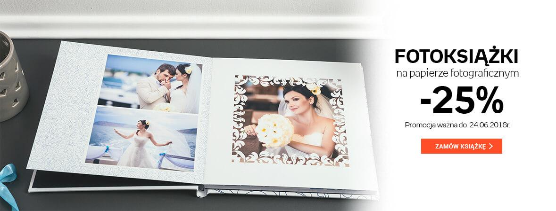 Fotoksiążka na papierze fotograficznym -25%