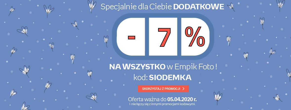 Dodatkowe -7%
